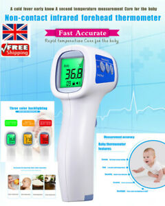 Ce Fda Thermometer Non Contact Infrared Thermometer Electronic Thermometer Uk Ebay