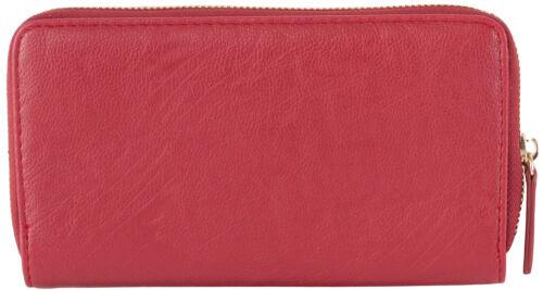 Joe/'s Jeans Zip Around Card Money Holder Purse Clutch Continental Wallet