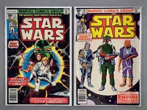 MARVEL STAR WARS Vintage Comic Books Lot 1977 Full Run 1-107 Key Issues 42 68
