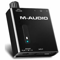 M-audio Bass Traveler Portable Powered Dual Output Headphone Amplifier