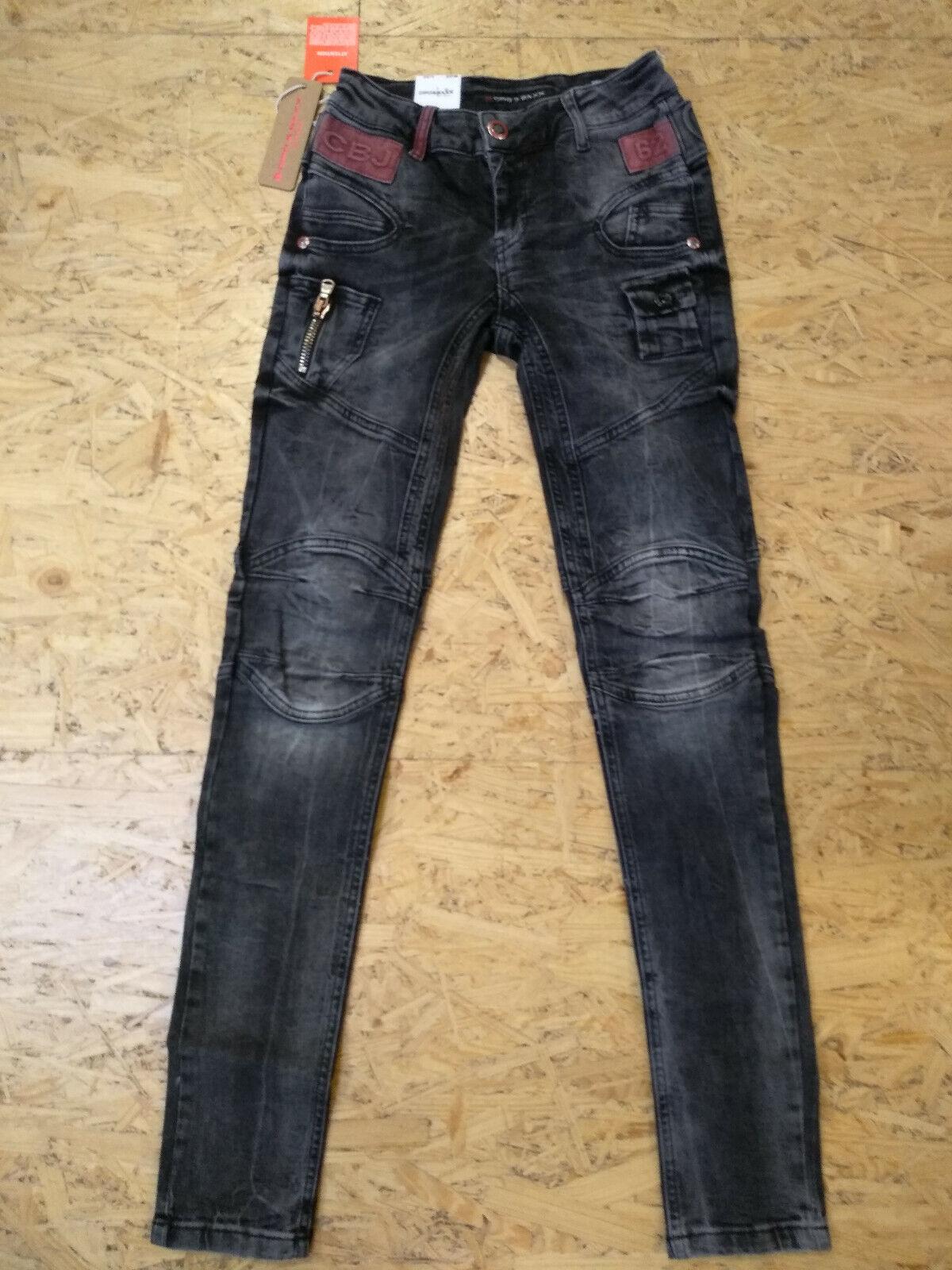 Cipo & Baxx  -- Slim Fit -- WD358 -- grau Wash -- Mid waist -- Jeans Damen