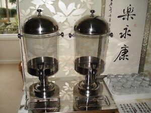 Commercial cold drink dispenser
