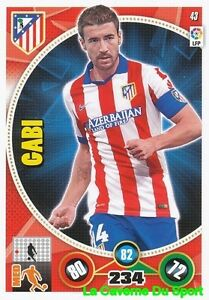 043 GABI ESPANA ATLETICO MADRID CARD ADRENALYN 2015 PANINI 9SXWA66M-09092926-475163313