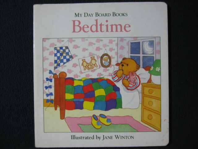 Bedtime (My Day Board Books) [Board book] [May 16, 1995] Rh Value Publishing