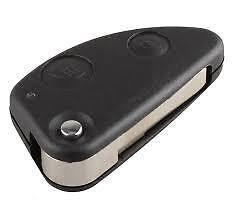 high quailty 2b alfa romeo 147 156 gt 2 button flip remote key fob