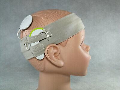 ECRUU Cochlear Implant Cotton Comfort Headband HANDMADE High Quality