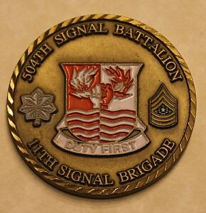 504th Signal Battalion 11th Signal Brigade Army Challenge