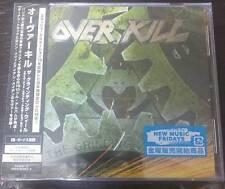 """OVERKILL """"THE GRINDING WHEEL"""" JAPAN CD +DVD +2 BONUS TRACKS *SEALED"""""""