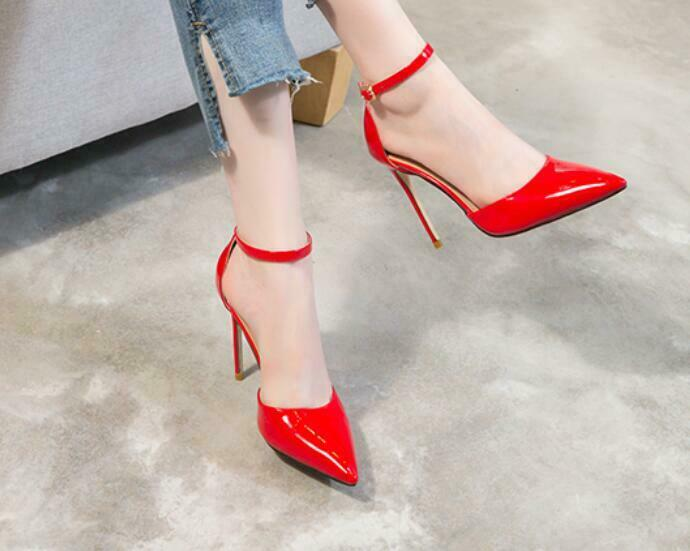 Hot Sale Ladies Ankle Strap Pump Pump Pump High Heel shoes Various Size US Sandals US Sz 419df9