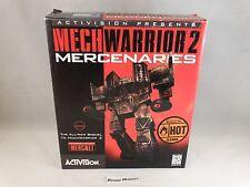 MECHWARRIOR MECH WARRIOS 2 MERCENARIES - PC BIG BOX CARTONATO - COMPLETO