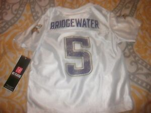watch 32cb6 b9bf0 Details about Toddler NFL Minnesota Vikings #5 Teddy Bridgewater Jersey  Size 3T (B72)