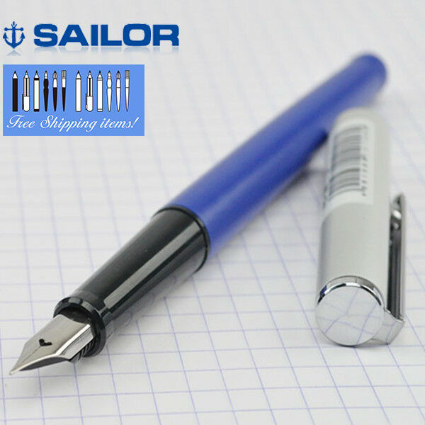 "Sailor ""HigAce neo"" Fountain Pen Blue Body x Fine Nib 11-0116-240"