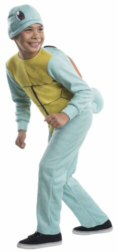 Rubies Pokemon Squirtle Bulbasaur Ash Pikachu Child Boys Halloween Costume 61052