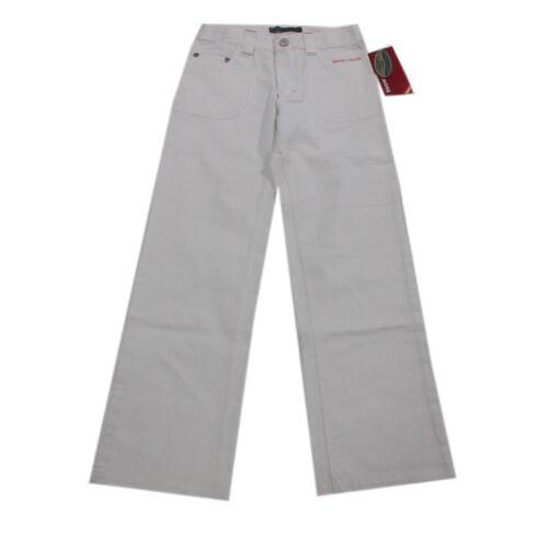 More /& More Pantalons Longue Pantalon Jeans Coupe Droite autre Jambe blanc fille taille 140 158