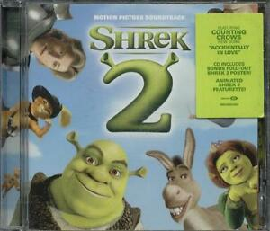 Shrek-2-Original-Motion-Picture-Score-David-Bowie-Counting-Crows-Tom-Waits-Cd-Ex