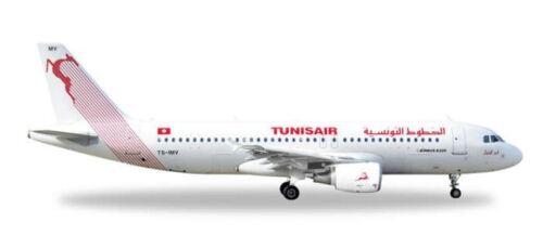 HERPA WINGS 1//500 SCALE TUNISAIR A320 1//500BNHE527828