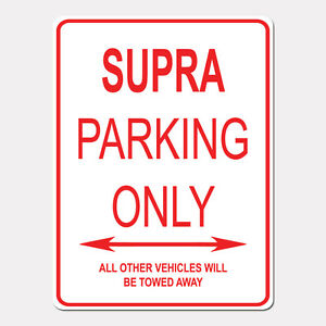 SUPRA-Parking-Only-Street-Sign-Heavy-Duty-Aluminum-Sign-9-034-x-12-034