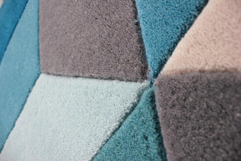 Moderno Pesado calidad tejida a Mano Verde Azulado Varios ORCHE Alfombra Varios Azulado Tamaños b34257
