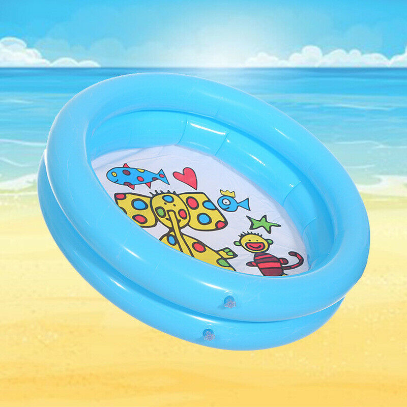 65 65cm Lovely Play Ball Inflatable Pool Round Animal Printed Baby Swimming Pool