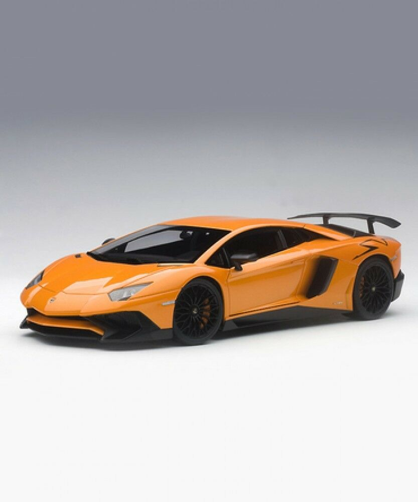 New Auto Art échelle 1 18 LAMBORGHINI Aventador LP 750-4 SV (métalliques  Orange)