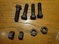 64-74 Mopar A B C E Body 340 383 440 Correct Exhaust Pipe Bolt Set