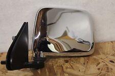 V1252  1998 - 2004 Nissan Frontier Mirror Manual Chrome LH Left Driver Side OEM