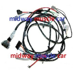 front end headlight headlamp wiring harness 67 chevy ... 62 chevy headlight wiring