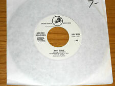 """70's 45 RPM - GEORGE HARRISON - DARK HORSE 8294 - """"THIS SONG"""""""