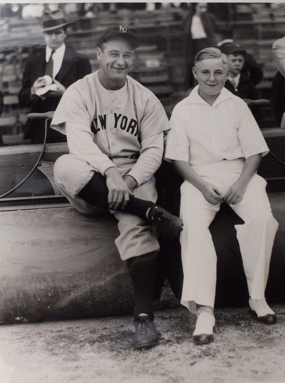 Lou Gehrig New York Yankees George George George Attelle 11x14 Réimpression Photo à Comiskey 373fff