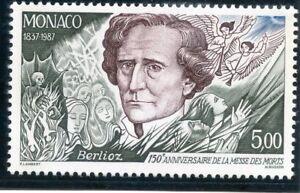 Stamp / Timbre De Monaco N° 1610 ** Berlioz / Musicien Promouvoir La Production De Fluide Corporel Et De Salive