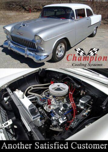1955 1956 1957 Chevrolet Nomad 3 Row Champion DR Radiator V8 Mounting Bracket