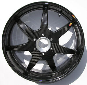 Bst Carbon Fiber Front Rear Rims Wheels Ducati 1098 1198 1199 1299