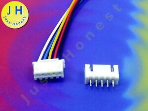 KIT presa e spina 2 Poli//pin header 2.54mm volte connector PCB #a1756