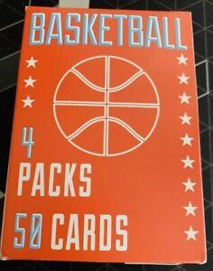 Panini-Fairfield-Basketball-Box-4-Packs-50-Random-Cards