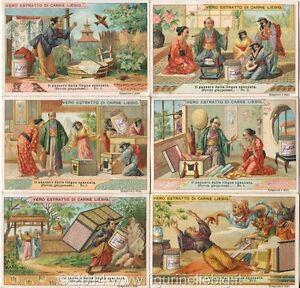 Chromo Liebig Sang. 677 ITA Il Passero Dalla Lingua Spaccata (favola) ANNO 1901