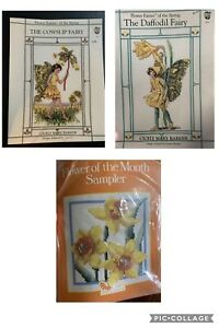Flower-Fairies-Of-The-Spring-Cross-Stitch-Charts-amp-Daffodil-Kit