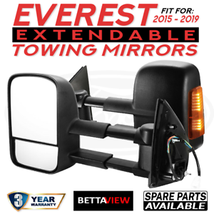 BettaView-Extendable-Caravan-Towing-Mirrors-FORD-EVEREST-2015-TO-2019-BLACK-IND