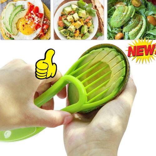 Avocado Slicer Shea Corer Fruit Peelers Cutter Kitchen Pulp Separator Slicer-US