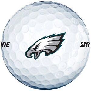 3-Dozen-Bridgestone-E6-Mint-AAAAA-Philidalphia-Eagles-NFL-LOGO-Golf-Balls