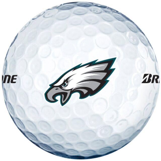 3 Dozen Bridgestone E6 Mint / AAAAA (Philidalphia Eagles NFL LOGO) Golf Balls