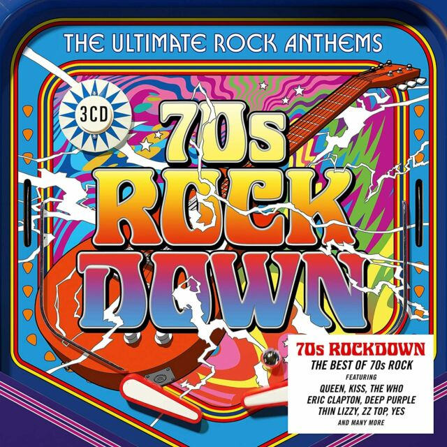 70s Rock Down - Rick Wakeman [CD] Sent Sameday*