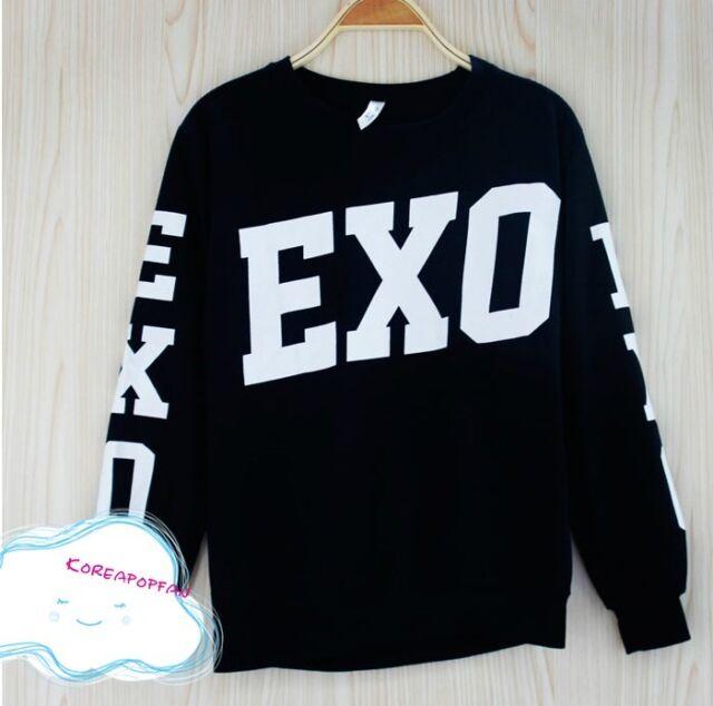 Exo exo-m exo-k hoodie longsleeve shirt sweater kpop New chanyeol sehun kai
