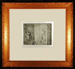 Actresses-in-Their-Dressing-Rooms-Original-Etching-by-Edgar-Degas-Framed
