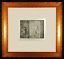 Actresses-in-Their-Dressing-Rooms-Original-Etching-by-Edgar-Degas-Framed miniature 1
