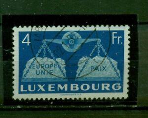 Lussemburgo, Europa Unita n. 483 timbrato