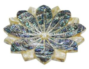 Fine-Marble-Dry-Fruit-Bowl-Pauashell-Abalone-Inlaid-Pietradure-Kitichen-H1423
