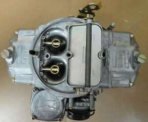 Holley-0-3310-15-Model-4160-Carb-750cfm-Electric-Choke-Vacuum-Secondary