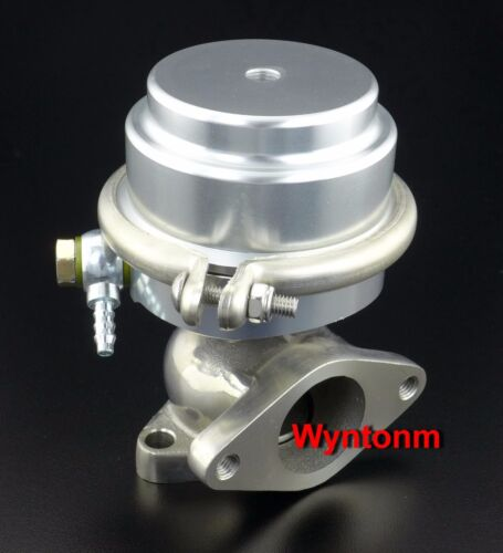 Details about  /38MM External Wastegate 17 PSI Turbo Stainless Steel Dump Valve Silver C II