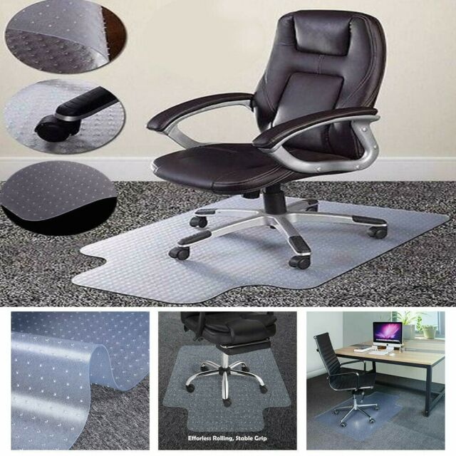 Home Office Computer Desk Chair Mat Heavy Duty Low Pile Carpet Floor Protection For Sale Online