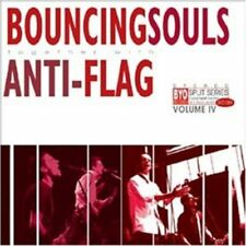 Bouncing Souls & Anti-Flag BYO Split Series 4 Vinyl LP Record! punk rock! NEW!!!